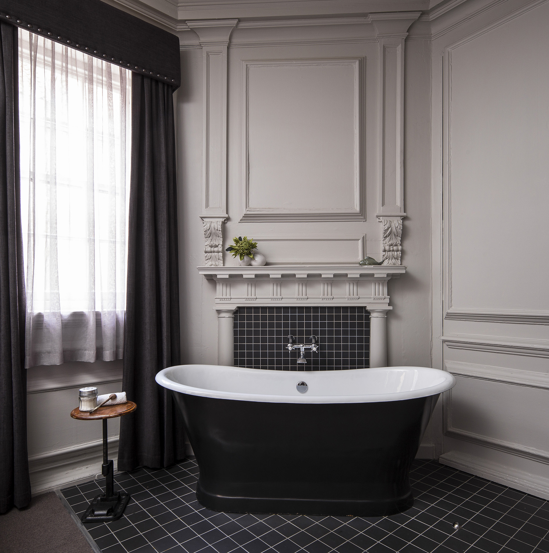 Free Standing Bath in Luxury Room (Please note not all rooms have this feature)